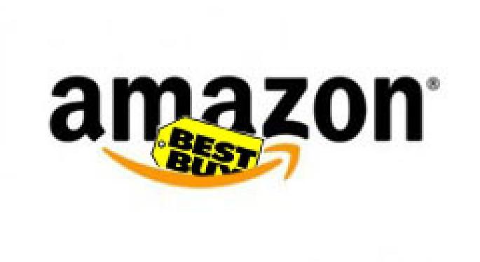 Amazon Eating Best Buy's Lunch AMZN, BBY
