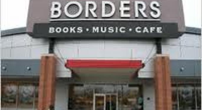 Borders Up On Restructuring Note BGP