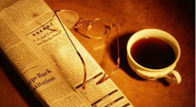 Financial Breakfast: Morning News Summary for July 20, 2012
