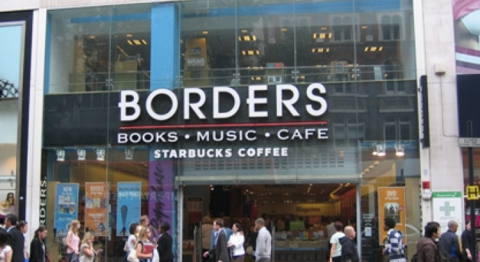 Borders Bankruptcy, Barnes & Noble Buy? BGP, GE, BKS, AMZN