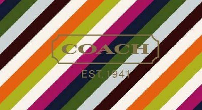 """Coach Stock Getting Crushed Calling 2013 """"Investment Year"""""""