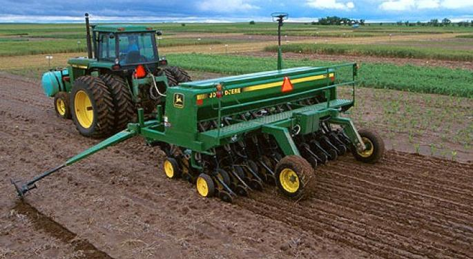 Mosaic and Other Fertilizer Producers Pull Back