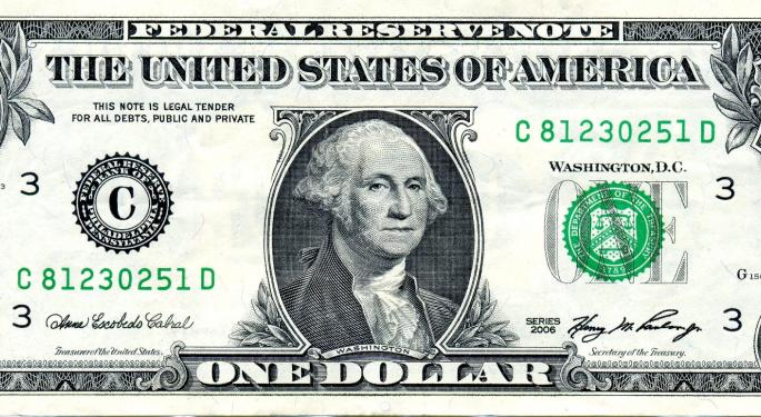 The U.S. Dollar Exchange Rate Slipped To New Lowest Levels