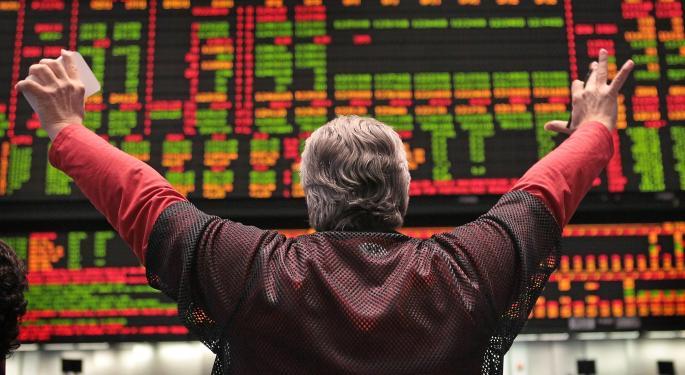 Mid-Day Market Update: Nasdaq Tumbles 1.7%; J.C. Penney Shares Gain