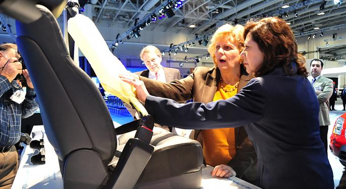 AutoHarvest Plays Key Role In Ford's Inflatable Seat Belt Licensing