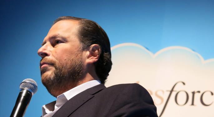 Salesforce CEO Marc Benioff Talks Apple, Amazon And Alphabet