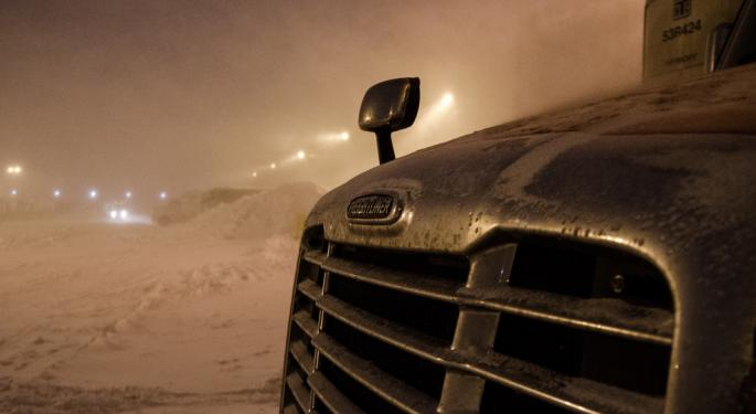 Winter Storm To Slam Several Freight Regions This Weekend