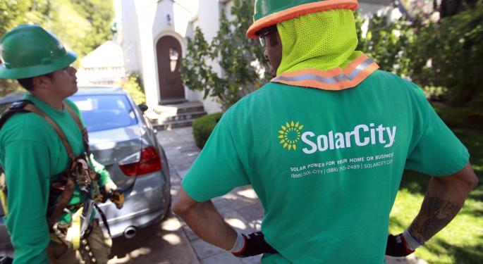 Short Interest Still Rising In Solar City, Falling In Advanced Energy AEIS, GTAT, SCTY