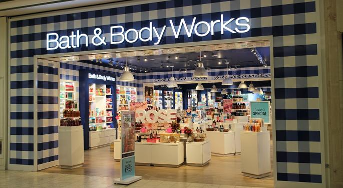 L Brands Analysts Review Q1 Print; Wells Fargo Says Bath And Body Works 'One Of The Brightest Spots In Retail'