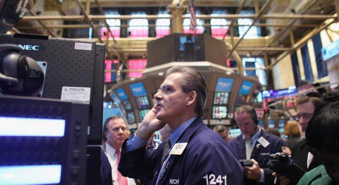 Markets Close Higher Despite A Contraction In GDP
