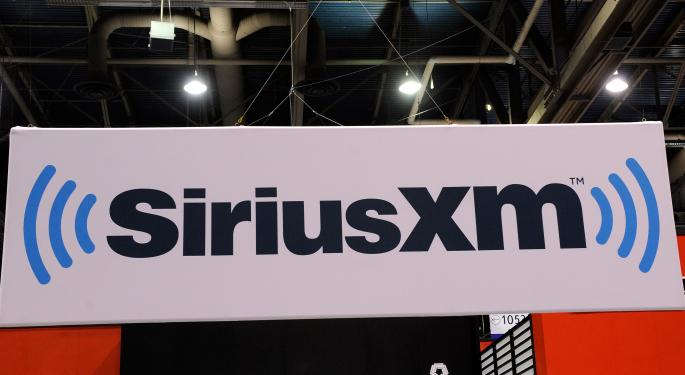 Sirius Shares Move on Revenue Announcement SIRI