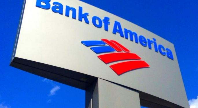 Here's How Much Investing $100 In Bank Of America Stock Back In 2010 Would Be Worth Today