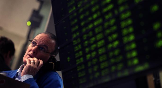 Mid-Morning Market Update: Markets Open Higher; UTi Worldwide Reports Q4 Loss