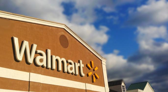 Wal-Mart Reaffirms 2017 Outlook, Sees Little Growth To 2018