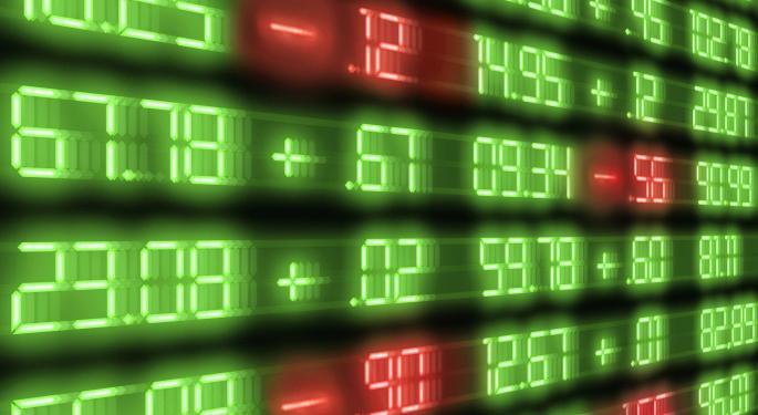 Mid-Morning Market Update: Markets Edge Lower; DirecTV Profit Tops Estimates