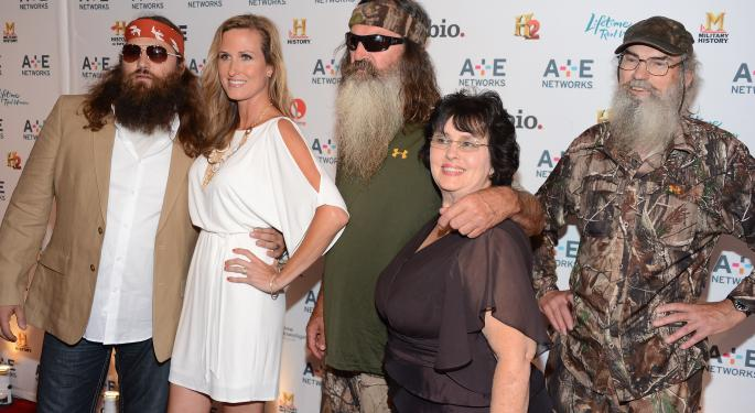 'Duck Dynasty' Phil Robertson Controversy Bad For A&E's Business