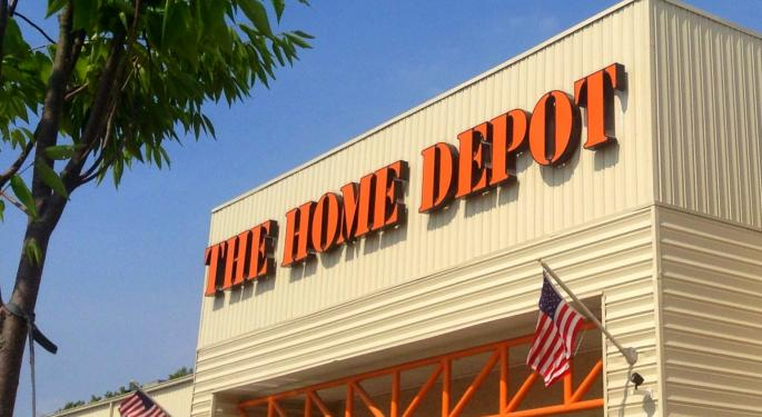 The Dow's Often-Forgotten, Overlooked Champion: Home Depot