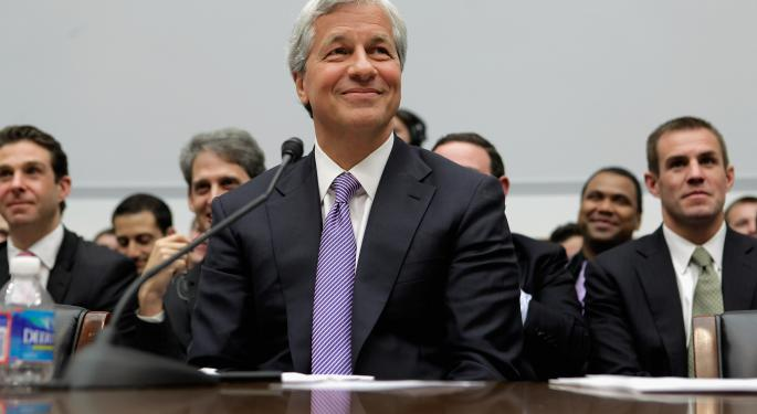 JPMorgan Chase & Co. Bumping Into Key Long-Term Resistance - Can It Break Through?