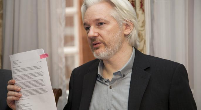 Wikileaks Co-Founder Julian Assange Arrested In London, Charged With Conspiracy To Commit Computer Hacking
