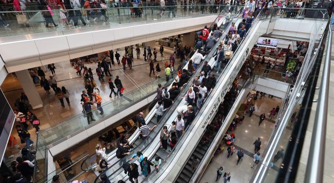 Deutsche Bank's Mall Checks Suggests An 'Underwhelming Holiday Start'