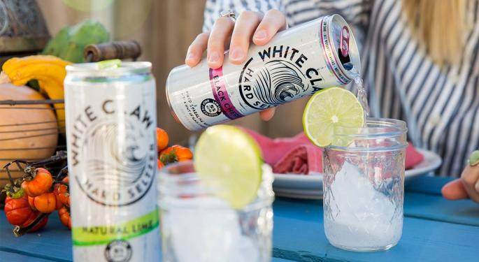 Beer Makers Buy Into Hard Sparkling Water Trend As Hard Soda Fizzles