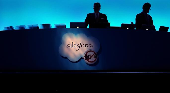 Is Salesforce's Analytics Cloud Already Factored Into The Stock?