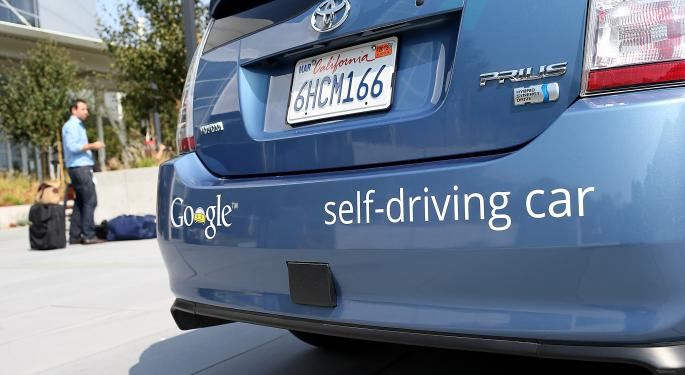 The Future Is Here: Google Unveils Plans For A Self-Driving Car