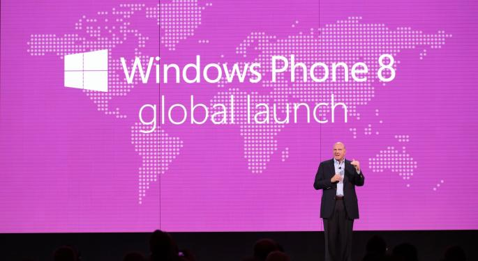 Windows Phone Sales Near Double Digits In Key European Markets MSFT