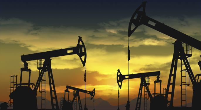 Crude Oil Lower On Dollar Rally