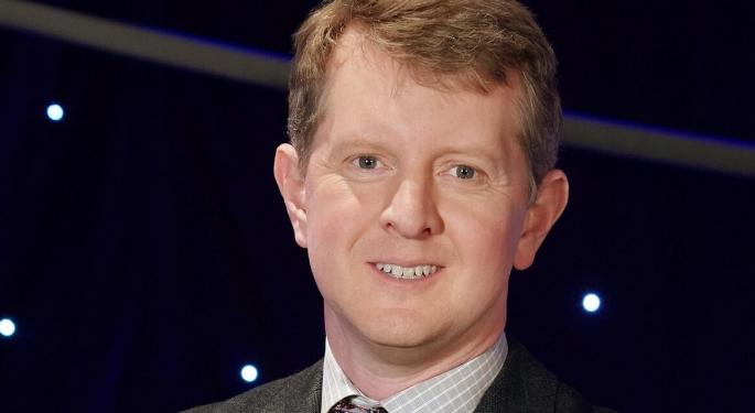 Ken Jennings Becomes Jeopardy's 'Greatest Of All Time,' Sealing Third Win In Four Games