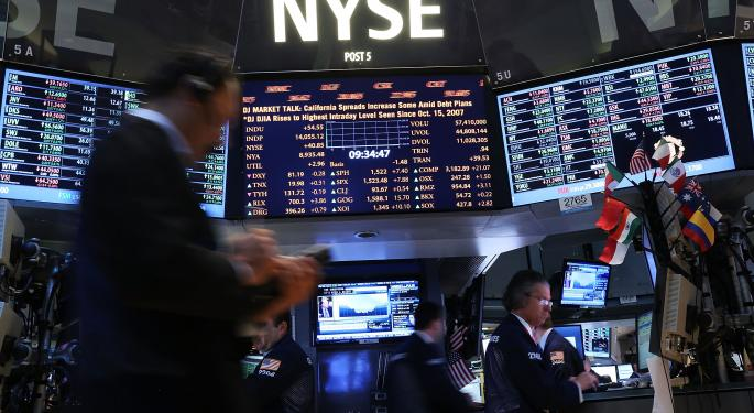 Mid-Day Market Update: Micron Shares Tumble On Downbeat Profit; SolarCity Spikes Higher