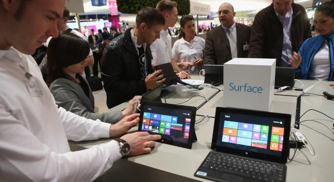 Microsoft To Unveil New Surface Tablet September 23 MSFT