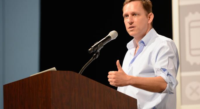 Peter Thiel Comes Out Against Spinoff As PayPal Battles Continue