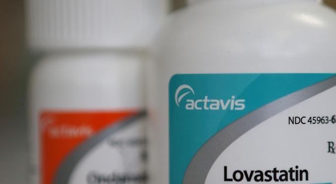 Actavis Looks To Keep Up Momentum In Spite Of Yellen's Report