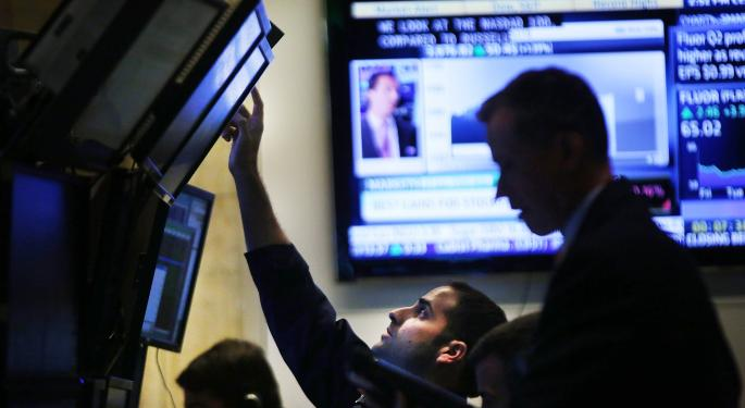 Mid-Afternoon Market Update: Cerner Rallies Major Contract While United Airlines Plummets