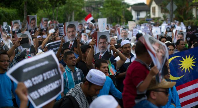 Brent Prices Spike As Egyptian Death Toll Rises