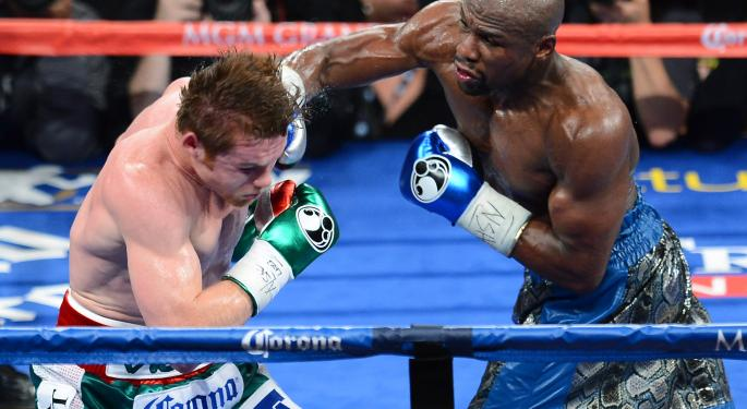 SLIDESHOW: Pretty Boy to Money Man: Floyd Mayweather Jr.'s Payday Climb