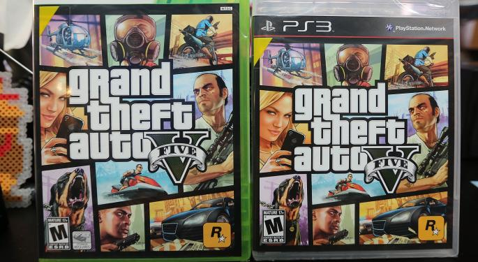 Take-Two Jumps 5% After Earnings Beat, 29 Million 'Grand Theft Auto V' Units Sold