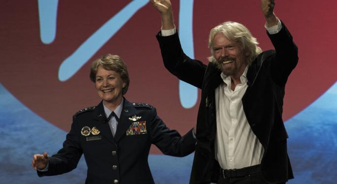 Space Travel One Step Closer To Reality As Richard Branson's Virgin Galactic Files To Go Public