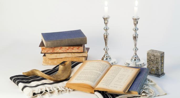 Seasonal Strategy: Sell Rosh Hashanah, Buy Yom Kippur