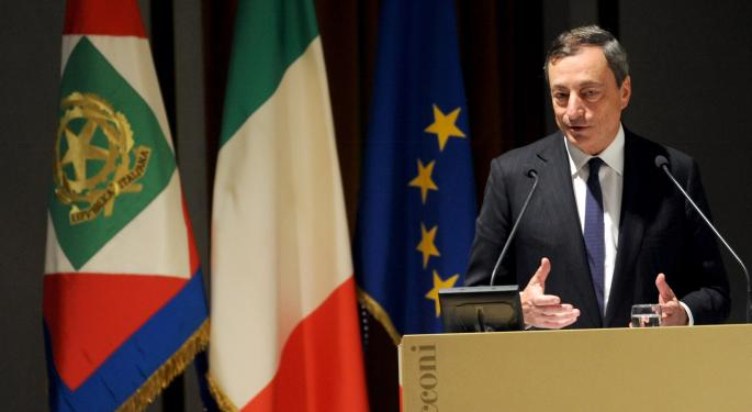 Draghi Says Banking Union Expected In 2015