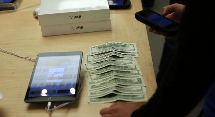 New iPad Air Adoption Rate Five Times Higher Than iPad 4 AAPL