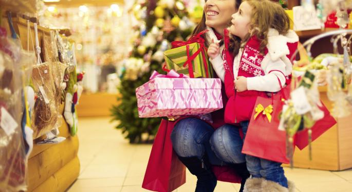Deloitte: Holiday Sales Will Rise As Much As 4.5%, Shopping Malls Still Relevant