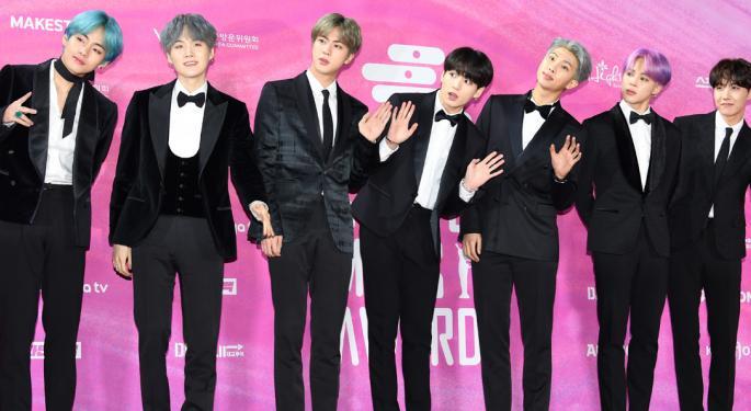 JPMorgan To Launch Korean Boy Band BTS' Label IPO