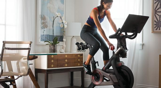 Sell-Side Likes Peloton's Winning First Quarter As Public Company