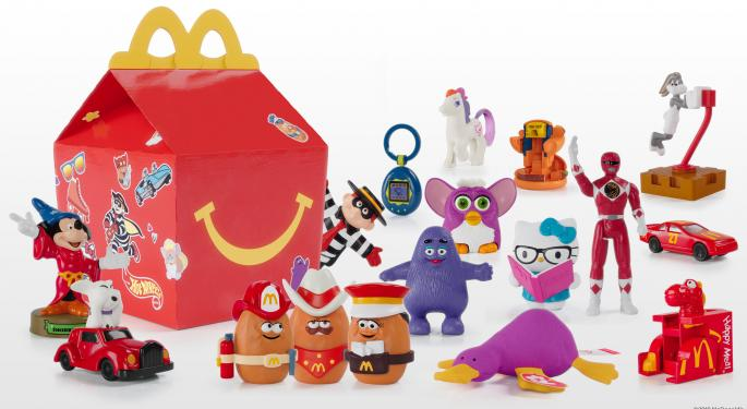 McDonald's Celebrates The Happy Meal's 40th Birthday With Nostalgic Toys