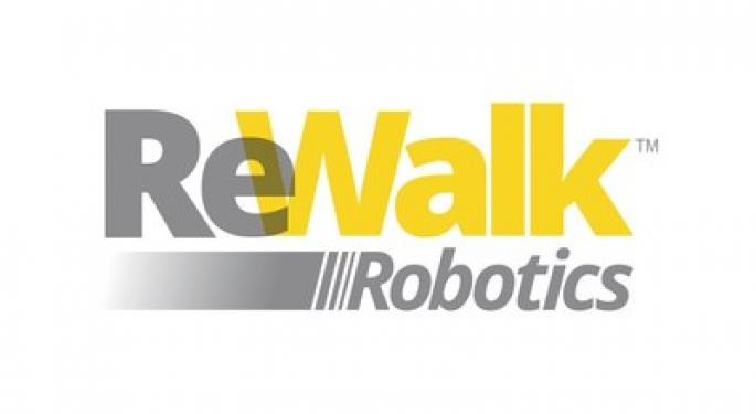ReWalk Robotics Higher After First Cigna Insurance Beneficiary Receives Personal 6.0 Exoskeleton
