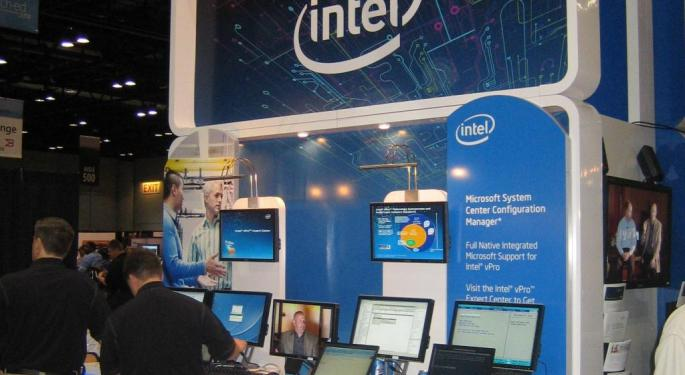 A Pause In Intel's Big Rally