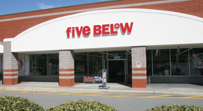 Five Below's Ability To 'Comp The Comp' Earns An Upgrade