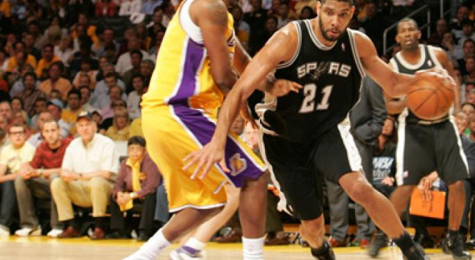 Tim Duncan Celebrates Retirement Just How Everyone Expected Him To